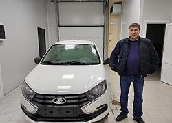 П. Виталий Витальевич купил Ладу Гранту Седан