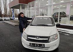 В. Жанна Юрьевна купила Ладу Гранту Седан в Интекаре